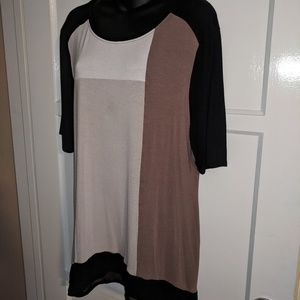Style & Co color block tunic